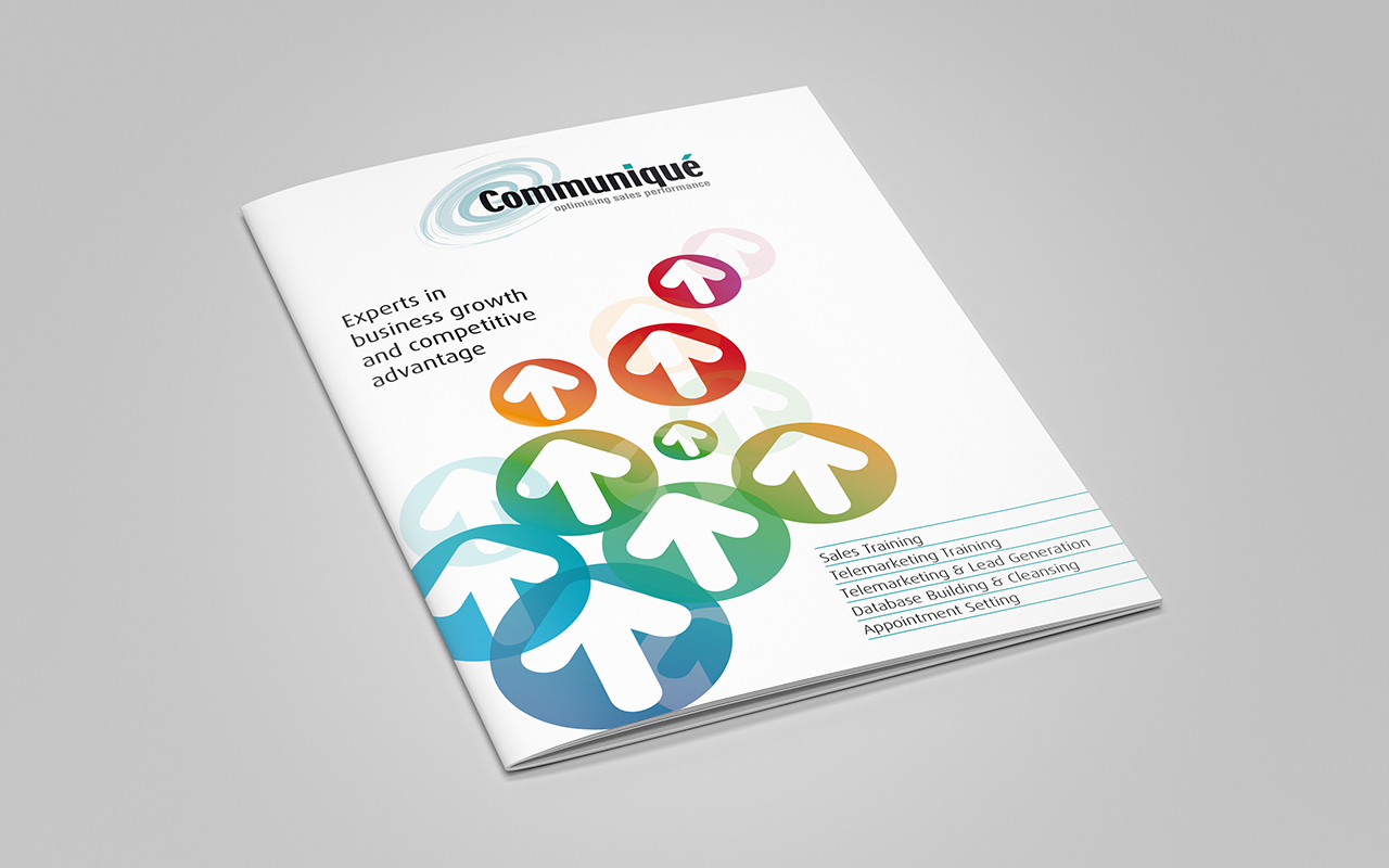Brochure for comms business